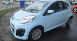 CITROEN  C1  VTR  3  DOOR HATCHBACK – VERY LOW MILEAGE !