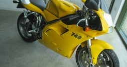 DUCATI desmoquattro 748 – VERY LOW MILEAGE !