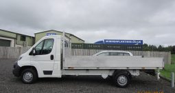 CITROEN  RELAY  35  L3  HDI  DROPSIDE  LORRY (14ft back)
