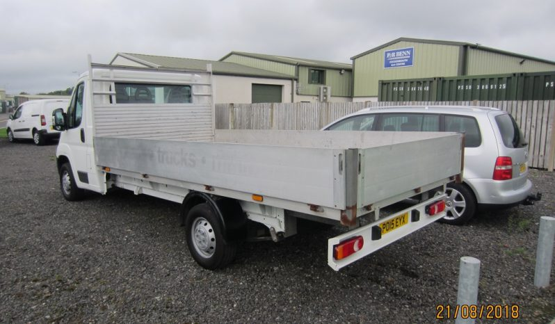 CITROEN  RELAY  35  L3  HDI  DROPSIDE  LORRY (14ft back) – ideal for scaffolding ! full