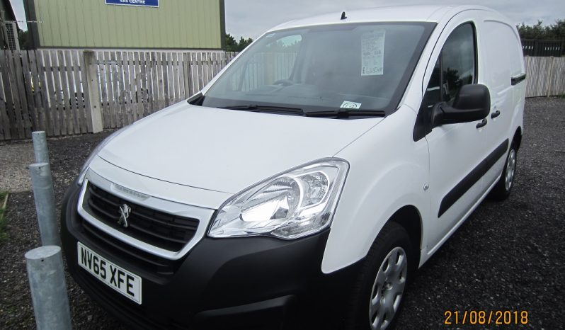 PEUGEOT  PARTNER  850  S L1 HDI PANEL VAN full