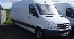 MERCEDES BENZ  SPRINTER  313 CDI  PANEL VAN WITH 5 X SEATS