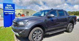 BRAND NEW….2021 FORD RANGER WILDTRAK ECOBLUE 4 X 4 A PICKUP TWIN CAB IN GREY.  1996c.c. DIESEL 37 MILES ONLY